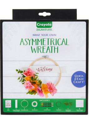 Crayola Asymmetrical Wreath Kit