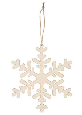 Darice Laser Cut Snowflake Ornament