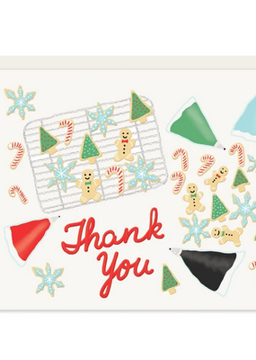 Slightly Stationery Card Cookie Thank You