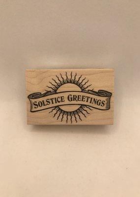 collage Stamp Solstice Greetings