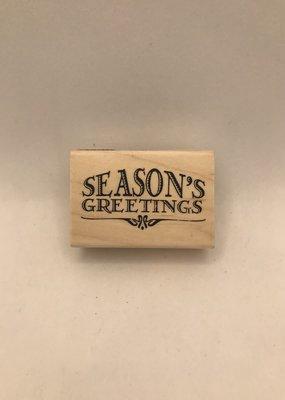 collage Stamp Season's Greetings