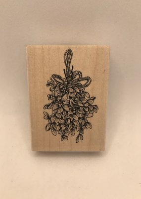 collage Stamp Mistletoe