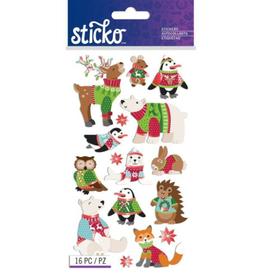 Sticko Stickers Sweater Animals