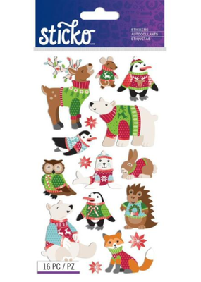 Sticko Stickers Sweater Animals
