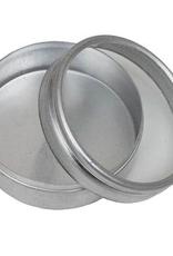 "Hawk Importers Aluminum Box Clear Lid Round 1.25"""