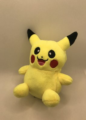 collage Plush Pikachu