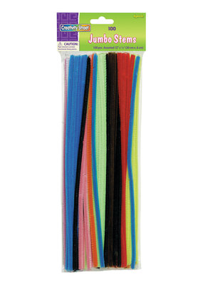 Creativity Street Chenille Stems Jumbo Assorted Colors