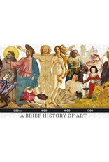 The Unemployed Philosophers Guild 1000 Piece Puzzle A Brief History of Art