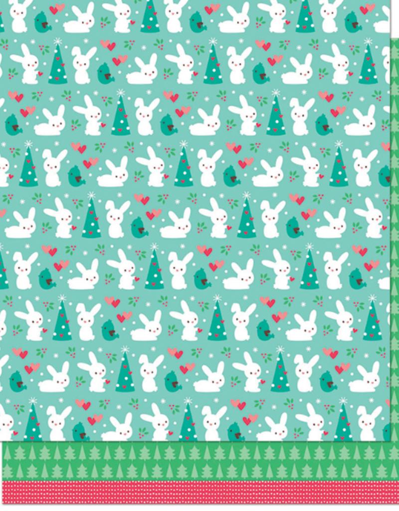 12 x 12 Paper Snow Day Remix Wool Socks Remix