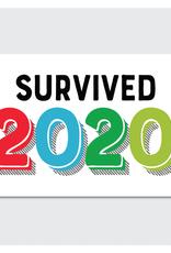Rock Scissor Paper Sticker I Survived 2020