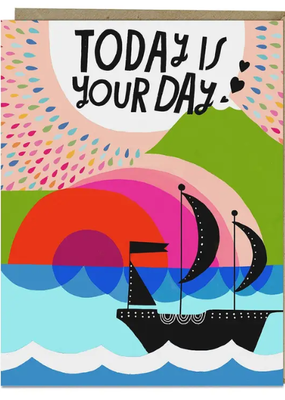 Lisa Congdon Card Today is Your Day