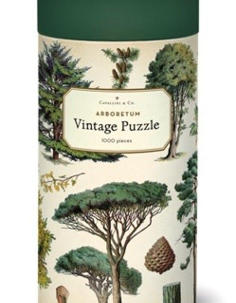 Cavallini 1000 Piece Jigsaw Puzzle Arboretum