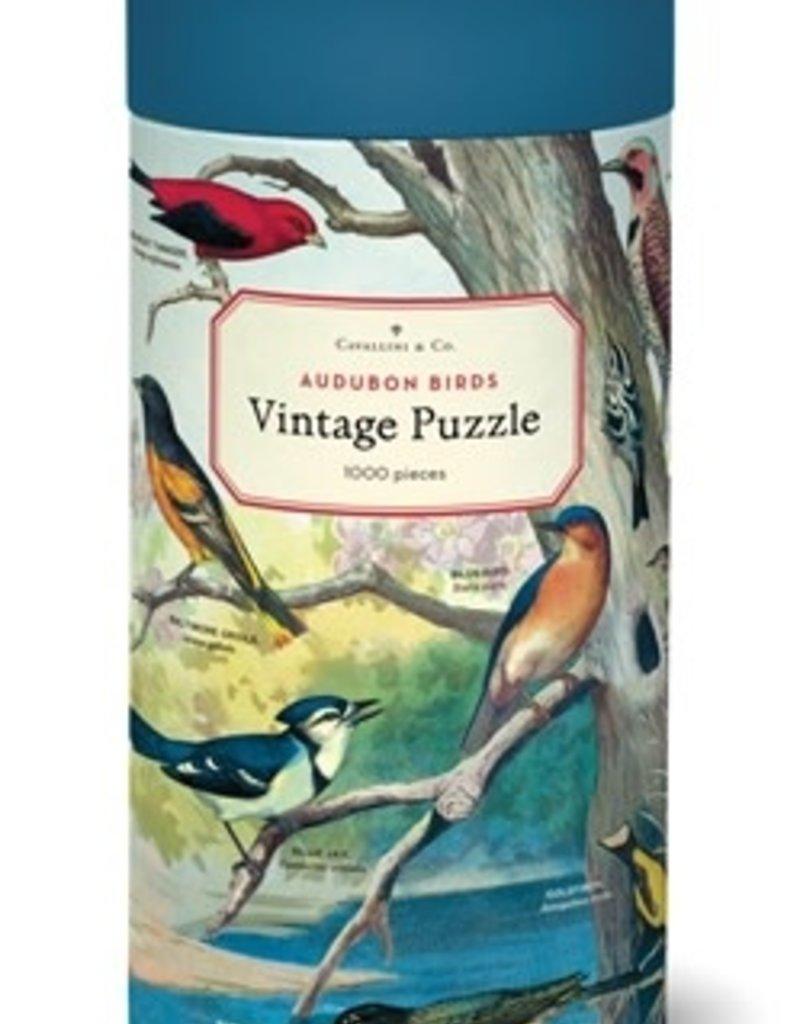 Cavallini 1000 Piece Jigsaw Puzzle Audubon Birds