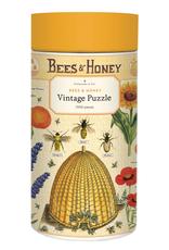 Cavallini 1000 Piece Jigsaw Puzzle Bees & Honey