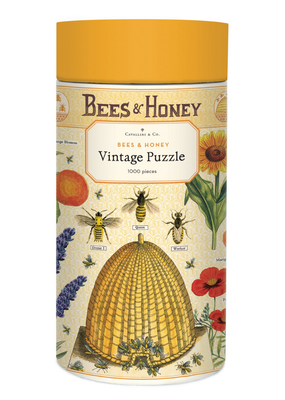 Cavallini 1000 Piece Jigsaw Puzzle Bees & Honey