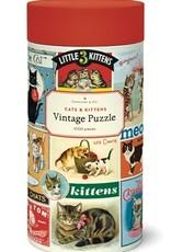 Cavallini 1000 Piece Jigsaw Puzzle Cats & Kittens
