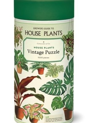 Cavallini 1000 Piece Jigsaw Puzzle Houseplants