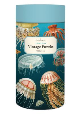 Cavallini 1000 Piece Jigsaw Puzzle Jellyfish