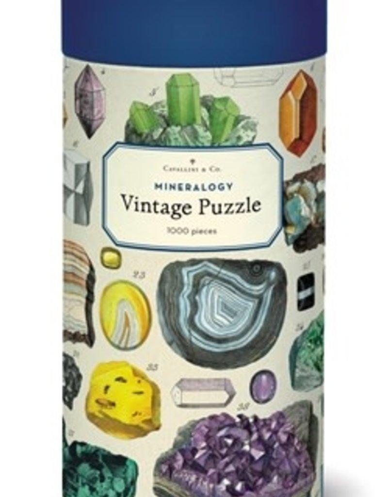 Cavallini 1000 Piece Jigsaw Puzzle Mineralogy
