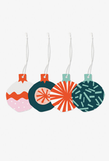 march Gift Tags Letterpress Ornament