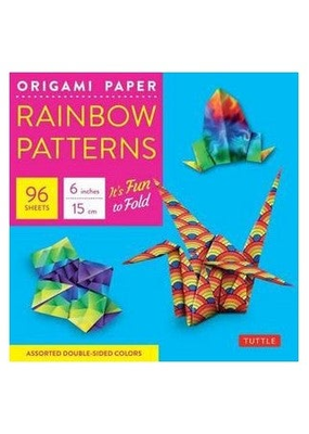 Tuttle Publishing Origami Paper 96 Sheets Rainbow Patterns