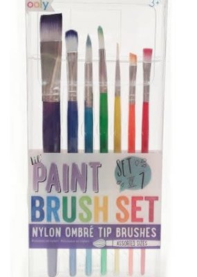 Ooly Lil Paint Brushes Set Of 7