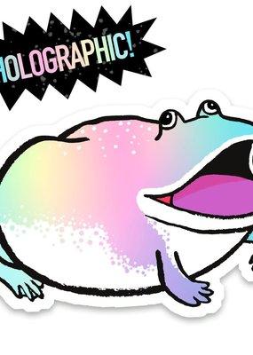Cactus Club Sticker Magic Frog