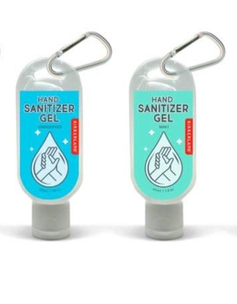 Kikkerland Hand Sanitizer Carabiner