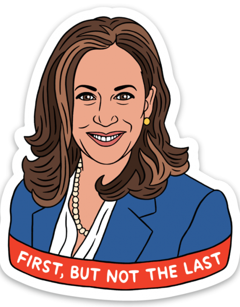 The Found Sticker Kamala First, But Not Last