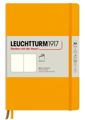 Leuchtturm Leuchtturm Medium Softcover A5  Plain Rising Sun