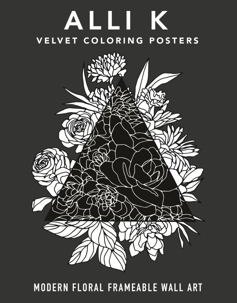 Modern Velvet Coloring Book