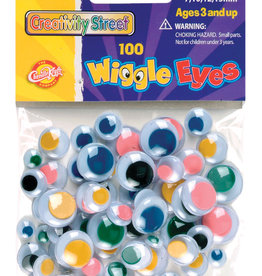 Creativity Street Googly Eyes Assorted Colors 100 Pack