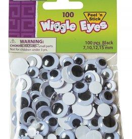 Creativity Street Googly Eyes Peel & Stick Assorted Sizes