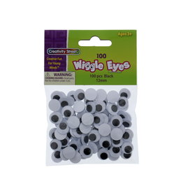 Creativity Street Googly Eyes 12mm 100 Pack