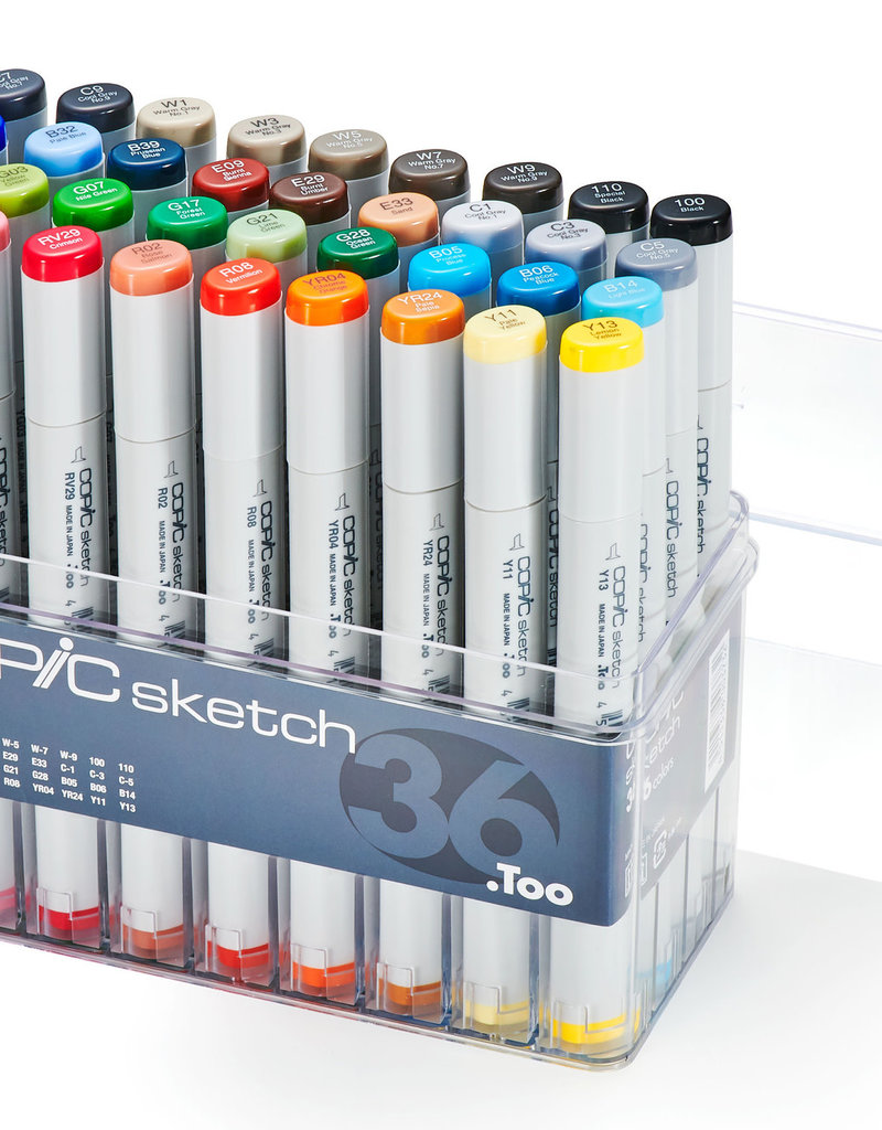 Copic Copic Sketch Marker 36 Color Basic Set