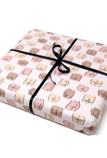 Unblushing Gift Wrap Butts