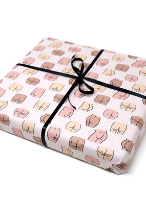Unblushing Gift Wrap Butts