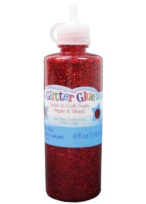 Sulyn Glitter Glue  Red 4 oz