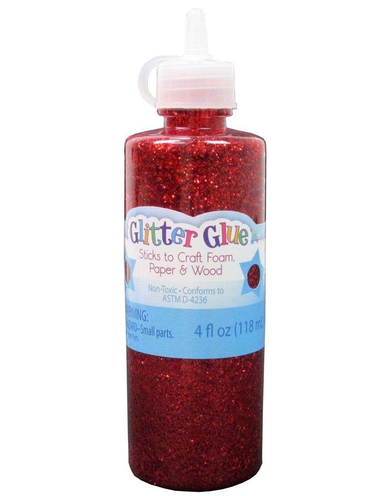 Sulyn Glitter Glue  Red 4 oz
