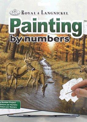 Royal & Langnickel Paint by Numbers Kit Symonds Creek