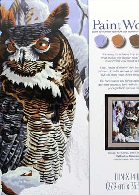 Dimensions Paint by Number Kit Winter Watch
