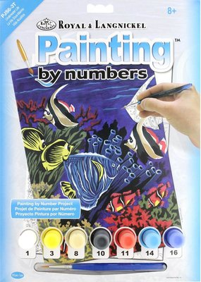 Royal & Langnickel Paint by Numbers Kit Underwater Life