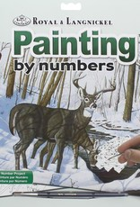 Royal & Langnickel Paint by Numbers Kit Winter Bliss