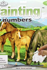 Royal & Langnickel Paint by Numbers Kit Horses & Foals