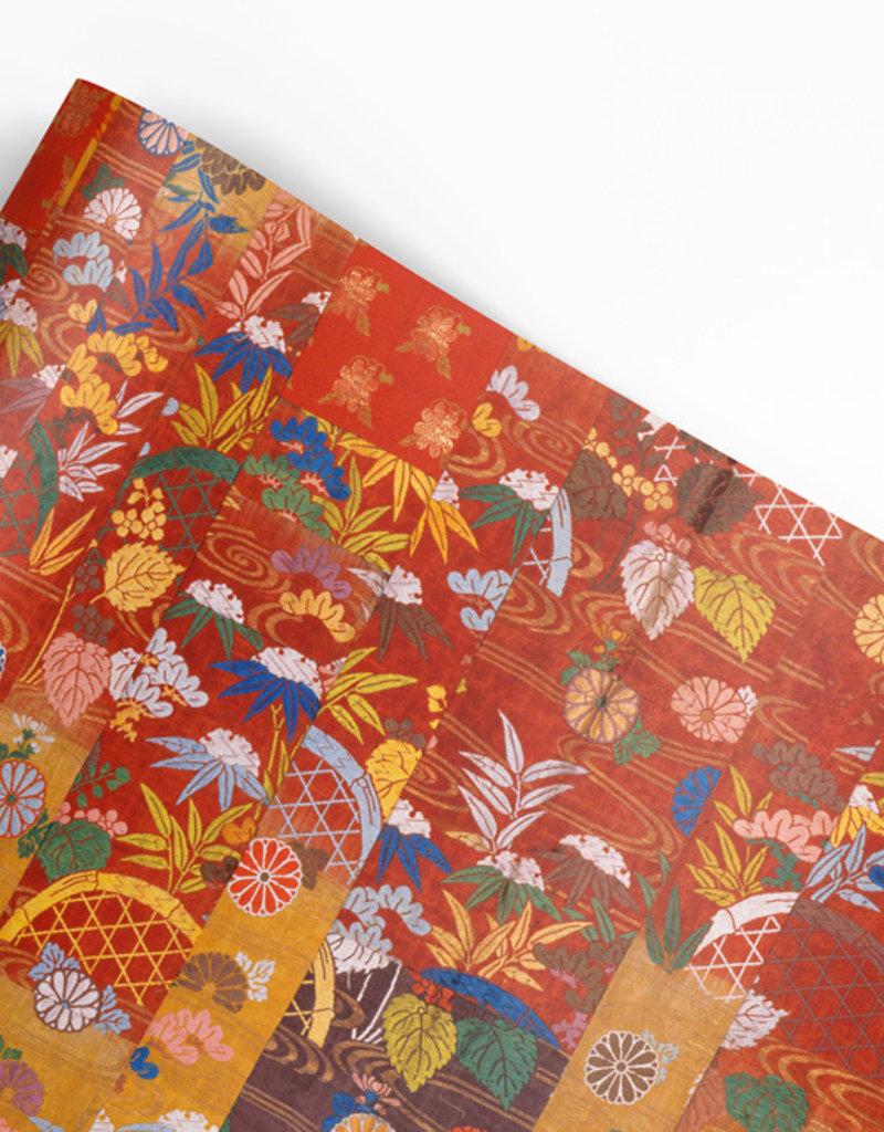 Pomegranate Gift Wrap Kesa Buddhist Robe