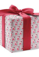 Pomegranate Gift Wrap Pink Elephants