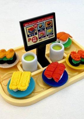 Sushi Go Round Eraser Set