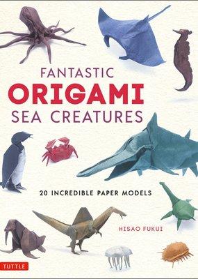 Tuttle Publishing Fantastic Origami Sea Creatures