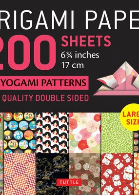 Tuttle Publishing Origami Paper Chiyogami Patterns 200 Sheets