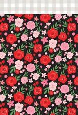 Echo Park Paper Co. 12 x 12 Decorative Paper Valentine Floral